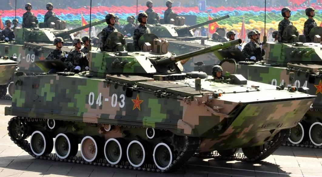 日本周辺国の軍事兵器: 04式歩兵戦闘車(ZBD-97/ZBD-04/WZ-502)
