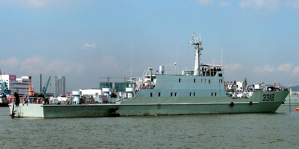 074A型揚陸艦(ユーベイ型/玉北...