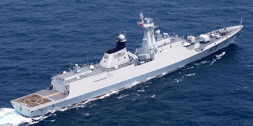 Marinha de guerra da China entra no Mar Negro